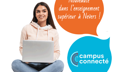 Ouverture du Campus Connecté de Nevers à l'INKUB en septembre 2019 Nevers