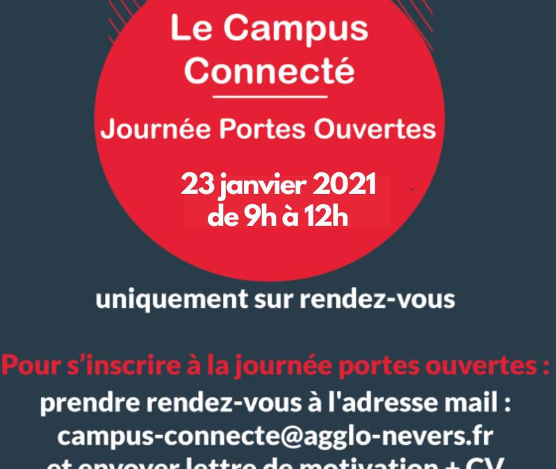 Journée Portes Ouvertes du Campus Connecté