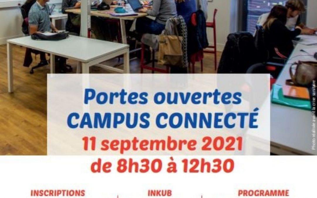 Portes ouvertes du Campus Connecté